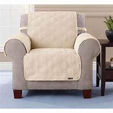 sure fit 174 quilted corduroy chair pet cover 292844