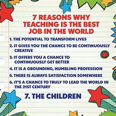 Why Do I Want To Be A Teacher Reasons Why Teaching Is The Best Job In The World