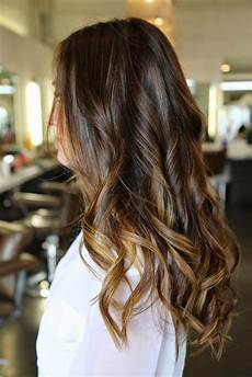 12 flattering brown hair with caramel highlights
