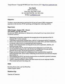 Job Resume Objectives Resume Objective Examples 1