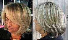 frisuren für frauen ab 50 halblang frisuren ab 50 die j 252 nger machen blond mittellang schr 228 ger