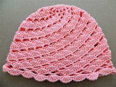 crochet gorros crochet gorro en conchitas diagonales parte 1 de 2
