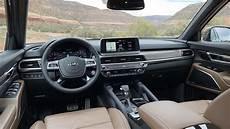 kia telluride 2020 interior driven 2020 kia telluride review of drive wise technology
