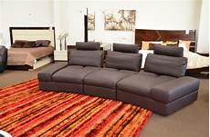 Lilac Sofa 3d Image by Lilac Espresso Grain Leather Sectional Sofa