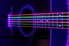 Neon Light Guitar Dr Hi Def Neon Multi Color K3 Coated Acoustic Guitar Strings
