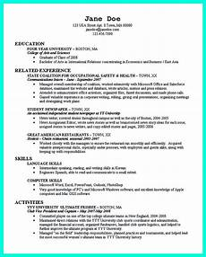 Resumes For Graduating College Students Best College Student Resume Example To Get Job Instantly