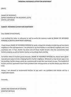 Example Of A Personal Reference Letter Personal Recommendation Letter 25 Sample Letters And