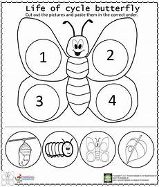 of cycle butterfly arbeitsblatt worksheet for