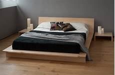 oregon low platform bed solid wood bed co