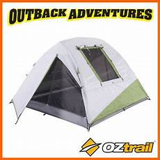 Small Light Hiking Backpack Oztrail Hiker 3 Person Dome Tent Backpacking Compact Light