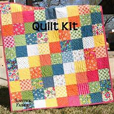 best day patchwork baby quilt kit simple easy
