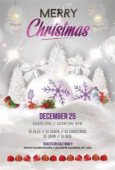 Free Christmas Flyer Psd Merry Christmas Amp Holiday Free Psd Flyer Template Free