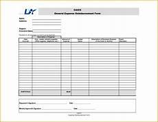 Cash Reimbursement Form 6 Petty Cash Reimbursement Form Template Fabtemplatez