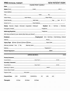 Physical Examination Printable Form 9 Best Images Of Printable Physical Form Printable