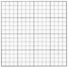 Cm Grid Geob 373 Dot Grid Instructions