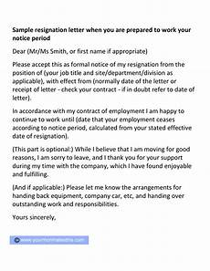 Example Letter Resignation Letter Samples Download Pdf Doc Format