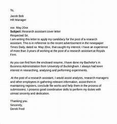Clinical Research Coordinator Cover Letters Entry Level Clinical Research Coordinator Cover Letter