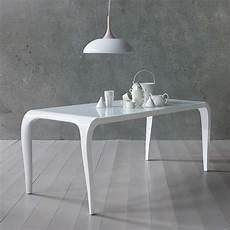 tavolo laccato bianco aristocrito tavolo di design in poliuretano fisso o
