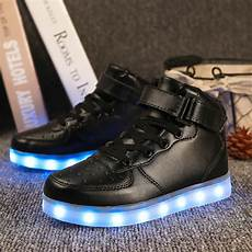Kids Gold Light Up Shoes Led Light Up Shoes Gold High Top Girls And Boys Luces