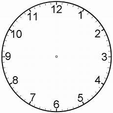 Malvorlage Uhr Ohne Zeiger Printable Clock For Children Activity Shelter