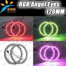 Universal Remote Change Traffic Lights Low Price Rgb Color Change Universal Ring Light 100mm 4pcs