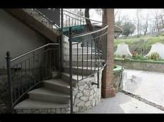 ringhiera in ferro battuto per esterno ringhiera in ferro battuto per scale esterne scale