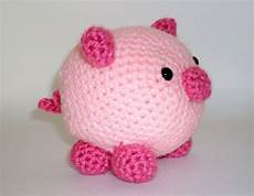 stuffed animal pig crochet amigurumi pink