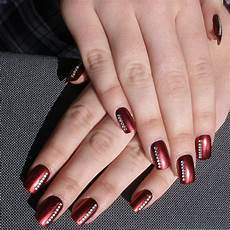 Burgundy And Black Nail Designs 30 Amazing Burgundy Nail Designs For Women 2019 Pretty