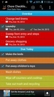 Chore Checklist App Chore Checklist Lite Android Apps On Google Play
