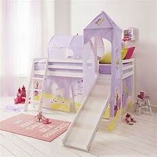cabin bed mid sleeper bed with slide princess