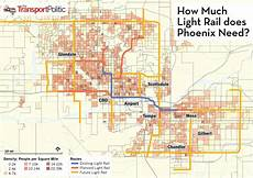 Light Rail Map Phoenix Tempe More Light Rail Presents Itself As The Answer For A