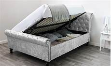 up to 60 st diamante sleigh bed groupon