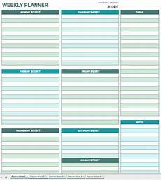 Day Planner Calendar Template Free Printable Daily Calendar Templates Smartsheet