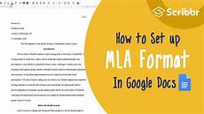 2020 Mla Format Setting Up Mla Format Paper In Google Docs Step By Step
