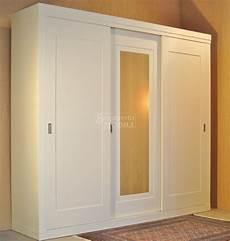 guardaroba ante scorrevoli specchio armadio guardaroba in legno di frassino a 3 ante