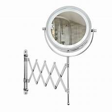 Vanity Mirror With Lights Battery Extending Wall Mounted Battery Led Bathroom Cosmetic