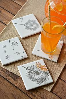easy diy tile coasters gift in craft
