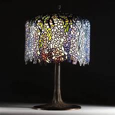 Antique Lighting Shops London Vintage Wisteria Large Tiffany Table Lamp Antique