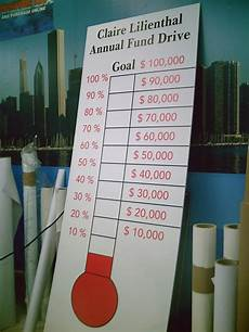 Fundraising Charts 31 Best Fundraising Thermometers And Goal Charts Images On