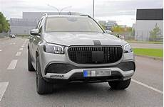 mercedes maybach gls spotted undisguised ahead of reveal