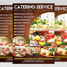 Catering Flyers Design Catering Food A5 Flyer Template Exclsiveflyer Free