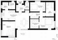 flach 110 der 110 m2 malli bungalow mit flachdach haus