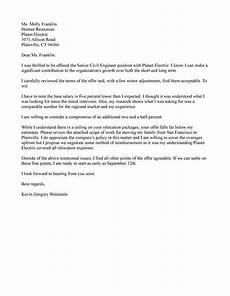 Job Offer Counter Proposal Letter Sample Counter Offer Job Letter Samples Examples Free Templates