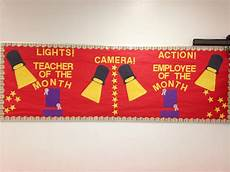 Employee Bulletin Boards Teacher And Employee Of The Month Bulletin Board With
