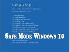 How to Boot Acer Laptop in Safe Mode On Windows 10   YouTube