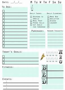 Free Printable Planner Pages Printable Planner Pages On Pinterest Planner Template