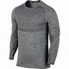 mens knit shirts sleeve nike dri fit knit running shirt sleeve s