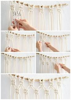 macrame diy interior easy diy macrame wall hanging tutorial