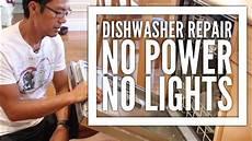 Kitchenaid Dishwasher Troubleshooting Clean Light Kitchenaid Dishwasher Repair No Power No Lights And