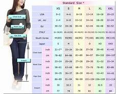 Size Conversion Chart Women S Clothing International Size Conversion Charts And Measurements Baby